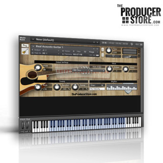TheProducerStore.com - Real Acoustic Guitar Kontakt Player