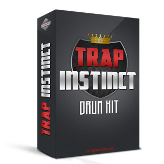 Trap Instinct - Trap Drum Kit product box