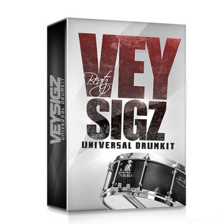 Veysigz Beats - Universal Drum Kit product box