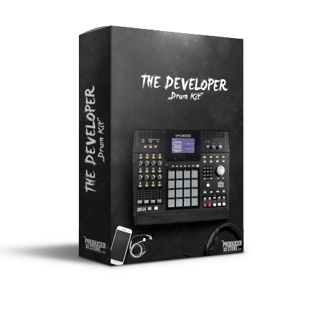 The Developer Hip Hop Drum Kit product box